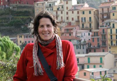 Anna in the Cinque Terre