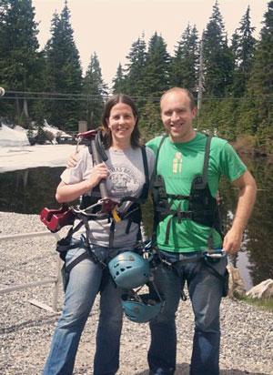 Ziplining in Vancouver